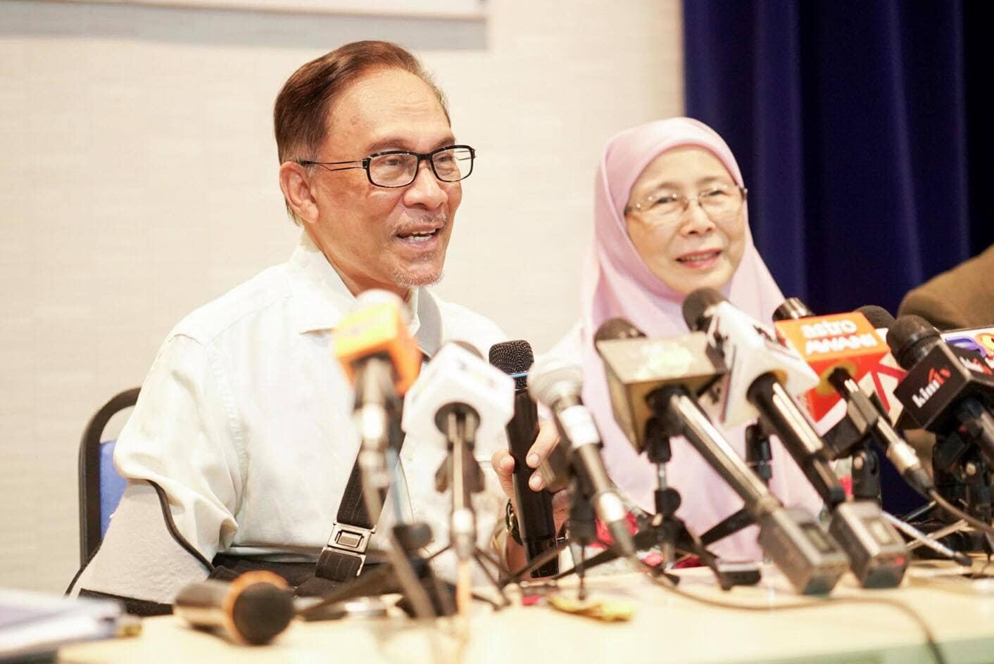 Anwar Ibrahim and Wan Azizah