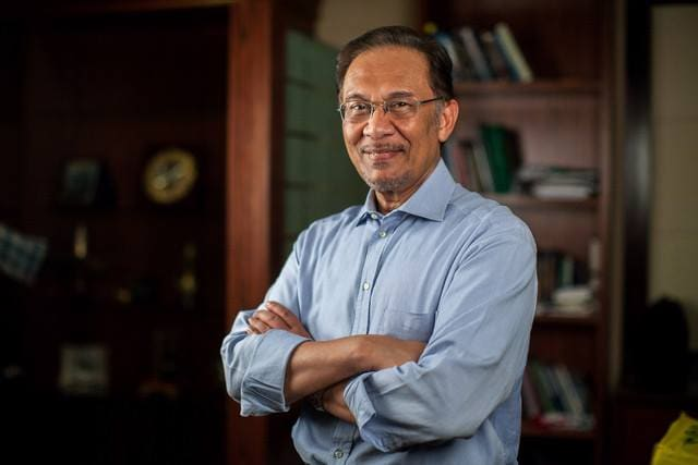 Prime Minister to be, Anwar Ibrahim